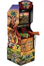 Arcade1Up Big Buck Hunter Pro Arcade Game with Riser and Wall Sign