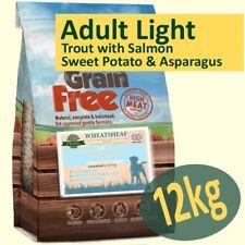 12kg *Grain Free* ADULT LIGHT Dog Food TROUT, SALMON, SWEET POTATO & ASPARAGUS