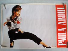 Rare Sexy Paula Abdul 1990 Vintage Original Music Pin Up Poster
