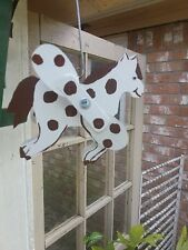 G&J's Classic Creations Horse Whirligig,Yard Art,Garden Decor,Handcrafted