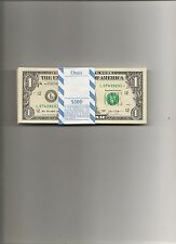 $1 2013 STAR REPLACEMENT NOTES BEP BUNDLE 100 PACK CONSECUTIVE SN BRAND N