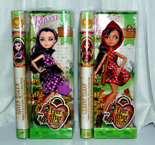 Ever After High Dolls New Raven Queen and Cherise Hood