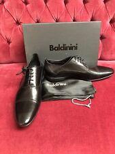 Baldinini Fine Italian Leather Mens Dress Oxford Shoes 41 NIB