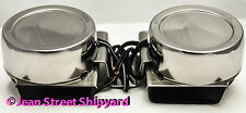 12 V Boat Marine Stainless Twin Compact Double Electric Duel Horn Safety Signal