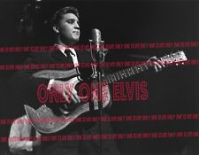 ELVIS PRESLEY on TELEVISION 1956 16x20 LARGE DELUXE Dorsey Brothers Show Feb 18