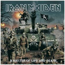 CD de musique hard rock iron maiden sur album