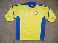 Seattle NORTHWEST LEAGUE Yellow CRICKET JERSEY Shirt Size Adult LARGE Pakistan