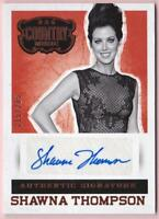 SHAWNA THOMPSON 2014 PANINI COUNTRY MUSIC SIGNATURES AUTOGRAPH #215/285 SIGNED