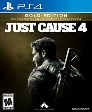 Just Cause 4 Gold Edition PS4. Brand New Sealed
