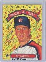 1992 Triple Play Gallery of Stars #GS-7 JEFF BAGWELL (Astros) HOF