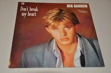 "Il Harrow-Don 't Break My Heart-POP 80er -12"" Maxi vinile disco LP"