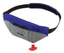 Onyx Outdoor M-24 Manual Sup Inflatable Belt Pack - Blue 130000-500-004-15