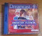 DEAD OR ALIVE 2 - Dreamcast Game