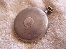 .900 Pocket Watch Antique Junghans Silver