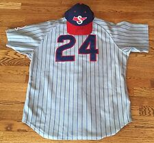 Chris Archer Game Used Worn 2010 Daytona Cubs Road Jersey Cap Tampa Bay Rays