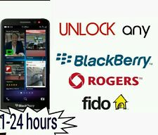 Unlock code Blackberry Priv Key One Z3 Z10 Q20 Q10 Passport Rogers Fido Canada