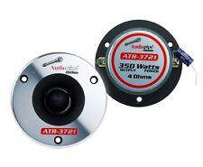 (1 Pair) Audiopipe ATR-3721 350W Max 4 Ohm Titanium Super Bullet Tweeters