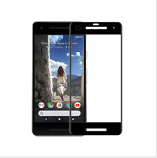 FULL 3D CURVED EDGE TEMPERED GLASS SCREEN PROTECTOR For Google Pixel 2 XL -Black