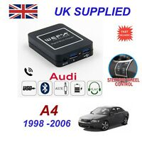 For Audi A4 Music Streaming Bluetooth Telephone Charger SD AUX CD Module 8 pin