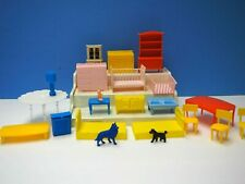 Vintage Plastic Doll Furniture from the Early 1970's