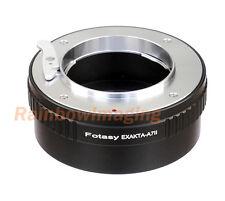 Exakta/ Auto Topcon Lens to Sony E-Mount A7II A7m2 A7S II A7R II Camera adapter
