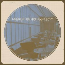 POLICA AND STARGAZE - MUSIC FOR THE LONG EMERGENCY DIGIPAK  CD NEUF