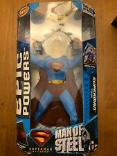 "Epic Powers Sumperman 12"" Man of Steel"