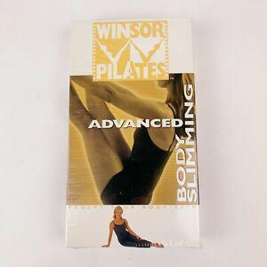 Winsor Pilates Advanced Body Slimming VHS New 2002