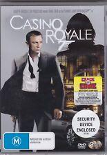 Casino Royale DVD James Bond 007 Action Daniel Craig Eva Green Judi Dench R1
