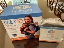 TwinGo Baby Carrier + Infant Extenders - Separates to 2 Single Carriers