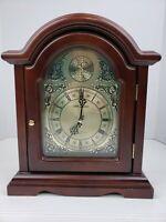 Seth Thomas Sturbridge Quartz Shelf/Mantle Wood Clock Model 1503 Chime Movement