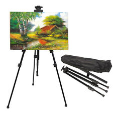 Art Artist Adjustable Tripod Easel,Drawing Board,Bag,Display Painting Exhibition