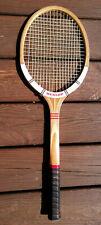 New listing Dunlop MAXPLY FORT Wooden Tennis Racquet Grip 4 1/2 Light Made in England NICE