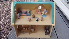 Sylvanian Families Bundle-Cosy Cottage Starter Home W. Nursery Babies/meubles