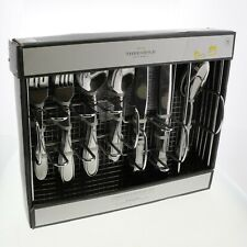 Threshold 45-Piece Evanston Stainless Steel Flatware Set Service for Eight