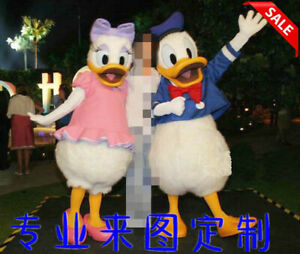 Donald Duck Mascot Costume Suits Cosplay Party Game Dress Outfits Clothing Ad