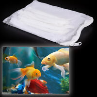 10X filter media bags 20 x 15CM reusable aquarium fish tank pond net mesh bag CA