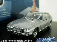 JENSEN INTERCEPTOR MK2 MODEL CAR 1:43 SCALE OXFORD 43JI006 SILVER GREY MKII K8
