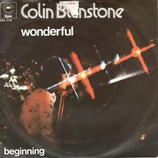 7inch COLIN BLUNSTONE	wonderful	HOLLAND 1973 EXSOC   (S2945)