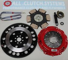 ACS STAGE 4 CLUTCH KIT+ RACING FW+CAR DECAL ACURA RSX 2.0L HONDA CIVIC SI
