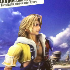 SQUARE ENIX PLAY ARTS KAI FINAL FANTASY X REMASTERED HD TIDUS PAK NUOVO NEW