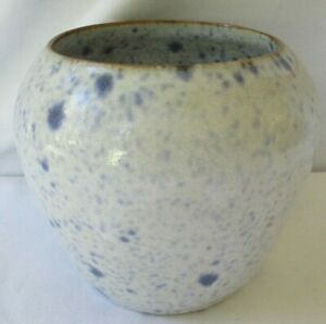 NELL COLE GRAVES 1992 JB COLE POTTERY SPECKLED VASE SEAGROVE NC