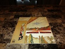 Stevie Wonder Rare Authentic Hand Signed Vinyl LP Record Innervisions Photo COA