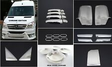 Dodge Mercedes Benz Sprinter W906 Chrome Edition Set Stainless Steel 2006-2013