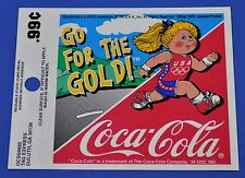 COCA COLA COKE autocollant usa decal - OLYMPIA 96 - GO pour le or fille