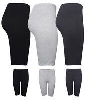 Ladies Cycling Shorts Womens Dancing Short Active Stretchy Pants Casual Leggings