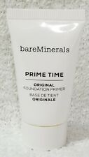 BareMinerals Escentuals PRIME TIME Original Foundation Primer .5 oz/15mL New