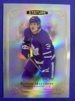 2019-20 Upper Deck Stature #1 Auston Matthews Toronto Maple Leafs