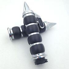 """Chrome 1"""" Hand Grip For Suzuki Intruder Boulevard C90 C50 Marauder 800 M50"""