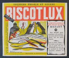 BUVARD BISCOTTES BISCOTLUX MOZART 10 blotter Löscher